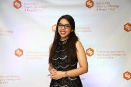 Simara Laboy López,  estudiante doctoral de Bioquímica. (Suministrada)