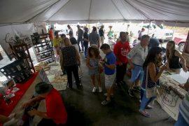 El flujo de público fue constante desde las 11:00 a.m. hasta las 5:00 p.m. que se dio por terminada la actividad. (Suministrada)