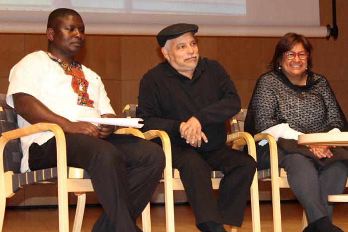Brother Kennedy Omondi, Justo Mendez y Ana Yris Guzman Torres