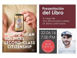 Flyer de la presentación de Puerto Rican Soldiers and Second-Class Citizenship: Representations in Media. (Suministrada)