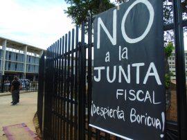 Protesta, Campamento contra la Junta