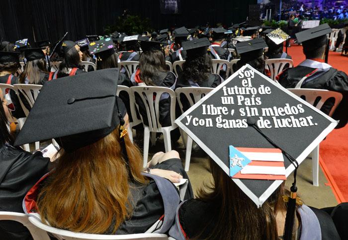 Graduación UPRRP 2016. (Ricardo Alcaraz/ Diálogo)