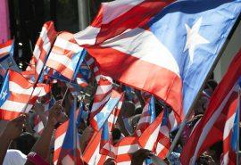 Banderas de Puerto Rico. (Ricardo Alcaraz/ Diálogo)