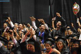 Graduación UPR Río Piedras 2016. (Ricardo Alcaraz/ Diálogo)
