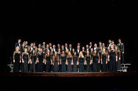 Coro de la UPR Cayey, el único coro de Puerto Rico que participará del evento internacional. (Suministrada)