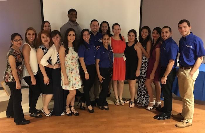 Estudiantes Miembros Capitulo UPR Enfermeria RCM