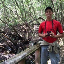 Carlos Velázquez, estudiante de la UHS. (Suministrada)