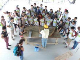 Foto 1- Grupo de adolescentes participando del Taller de Arquitectura- Verano 2016 (1)