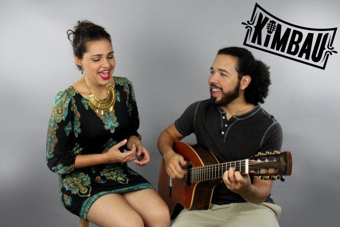 Kimberly García y Andrés Rigau, creadores de Kimbau. (Suministrada)