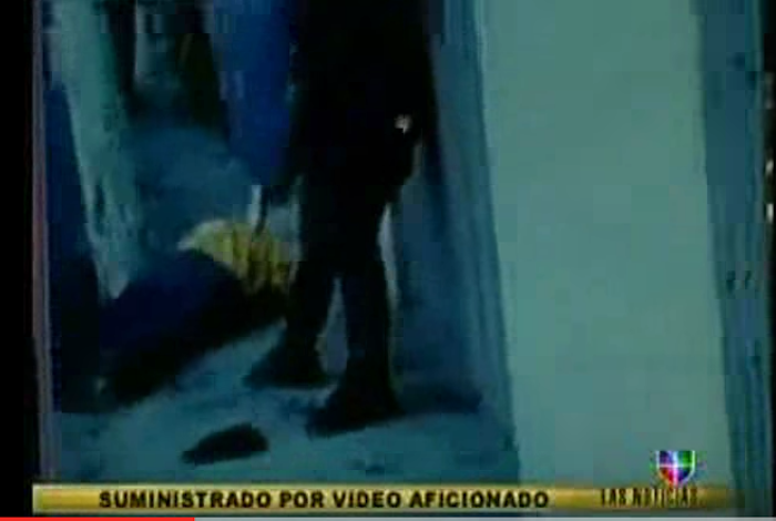 Video asesinato Miguel Cáceres.