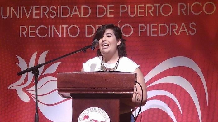 Wilmarí de Jesús, presidenta del CGE de Río Piedras. (Suministrada)
