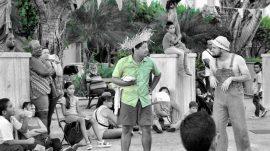 Los performances en las plazas públicas. (Suministrada)