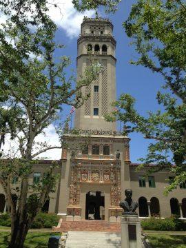 Torre de la UPR. (Glorimar Velázquez/ Diálogo)