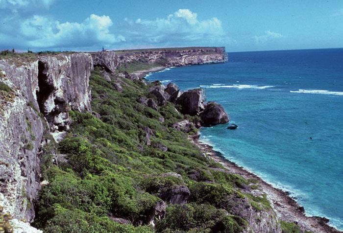 Isla Mona 1987/foto por R. Alcaraz