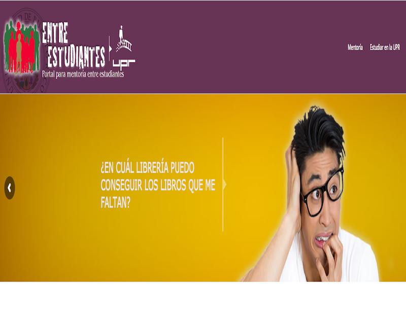 Portal de mentoría para universitarios. (UPR.edu)
