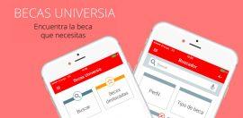 Universia, buscador de  becas para estudiantes (Sumistrada).