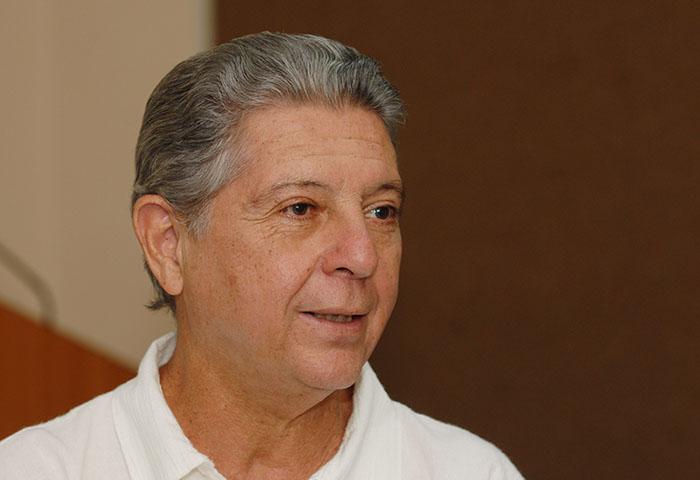 Alexis Massol, fundador de Casa Pueblo, en Adjuntas/marzo 2010