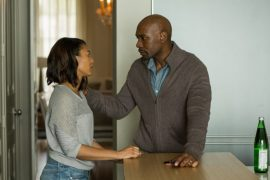 Morris Chestnut y Regina Hall protagonistas de When the Bough Breaks. (Suministrada)