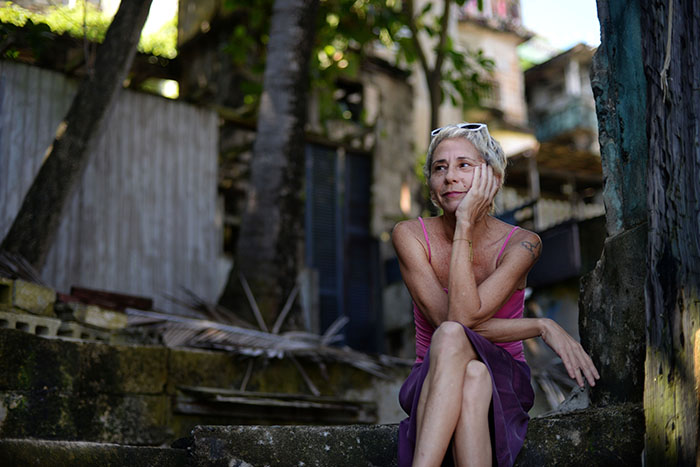 Marisol Plard Nevaez, artista plastica puertorriqueña. (Ricardo Alcaraz/ Dialogo UPR)