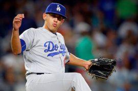 José De León Domenech, 24 años, lanzador derecho de Los Ángeles Dodgers. (Instagram)