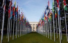 Oficina de las Naciones Unidas en Ginebra, Suiza. (Visualhunt)