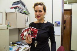 Sarah Platt, profesora de la UPRA. (Melvyn Centeno)