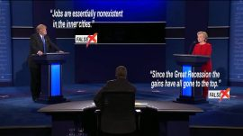 Fact checking el debate presidencial.
