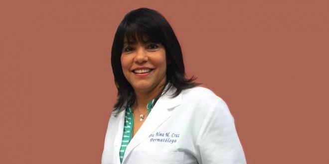 Dra. Alma Cruz, catedrática auxiliar del Departamento de Dermatología del Recinto de Ciencias Médicas.