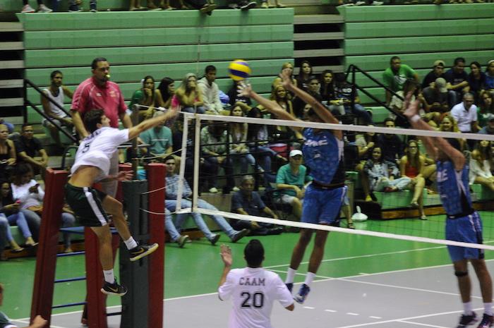 Voleibol universitario. (Suministrada)