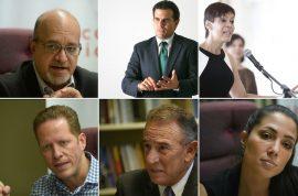 Candidatos a la gobernación