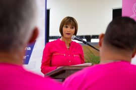 Mildred Carrero, directora nacional de las marchas en contra del cáncer, resaltó que a nivel de Estados Unidos y Puerto Rico el número de marchas pautadas para este año ronda las 300. (Suministrada)
