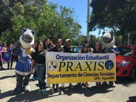 Organización estudiantil PRAXIS de UPR Aguadilla (Sumistrada)