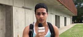 Daniel Vega, estudiante de ingeniería en computación de la UPR en Bayamón.