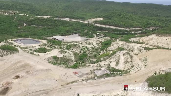 Vista aérea del vertedero de Peñuelas
