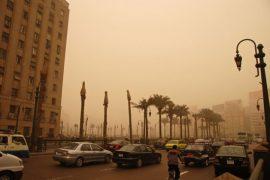 La contaminación aérea en El Cairo, Egipto. Crédito: Kim Eun Yeul/Banco Mundial. Fuente: Centro de Noticias de la ONU.
