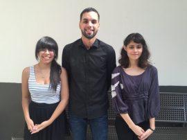 Agnes Pabón, Arnaldo Garcia y Desiree Rivera. (Suministrada)