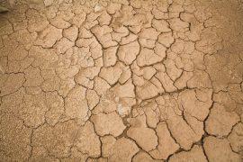 La falta de lluvias deja el suelo seco y no apto para la agricultura. Crédito: Mauricio Ramos/IPS.
