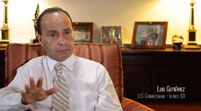El congresista Luis Gutiérrez en The Last Colony. (Sumistrada)