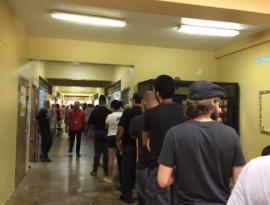 Centro de votación en Caguas el pasado 8 de noviembre. (Glorimar Velázquez/ Diálogo)