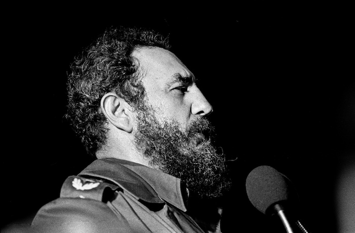 Fidel Castro en La Habana, en 1978. (Marcelo Montecino via Flickr / Visual Hunt)