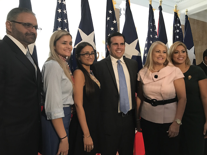 El nombramiento fue hoy en el Antiguo Casino de Puerto Rico en el Viejo San Juan. (Ronald Ávila Claudio/Diálogo)