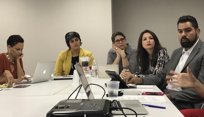 Participantes de la actividad y del viaje a Detroit. (Adriana De Jesús Salamán/Diálogo)