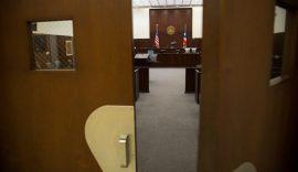 Sala de la Corte de Distrito federal en Hato Rey, San Juan. (Denis Rivera / Centro de Periodismo Investigativo)