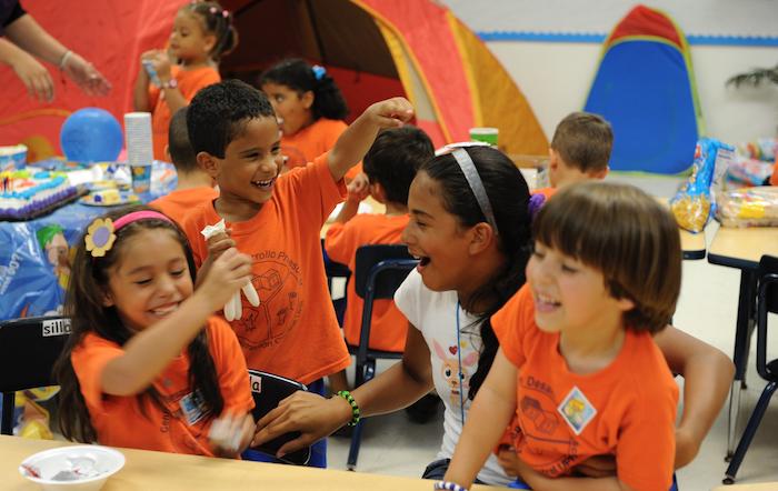 Niños del preescolar de la UPR (Ricardo Alcaraz/ Diálogo)