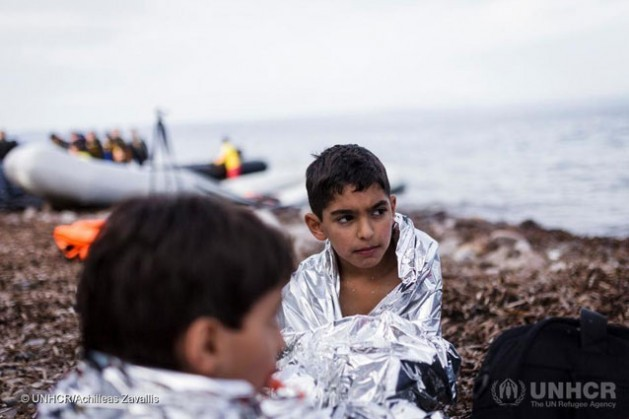 Por lo menos 3.740 refugiados y solicitantes de asilo cruzaron el mar Mediterráneo en 2016. Crédito: Alto Comisionado de las Naciones Unidas para los Refugiados.