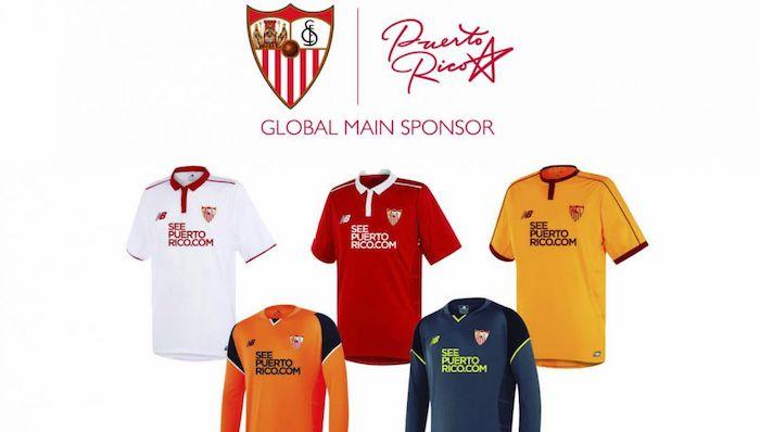 Camisetas Sevilla FC