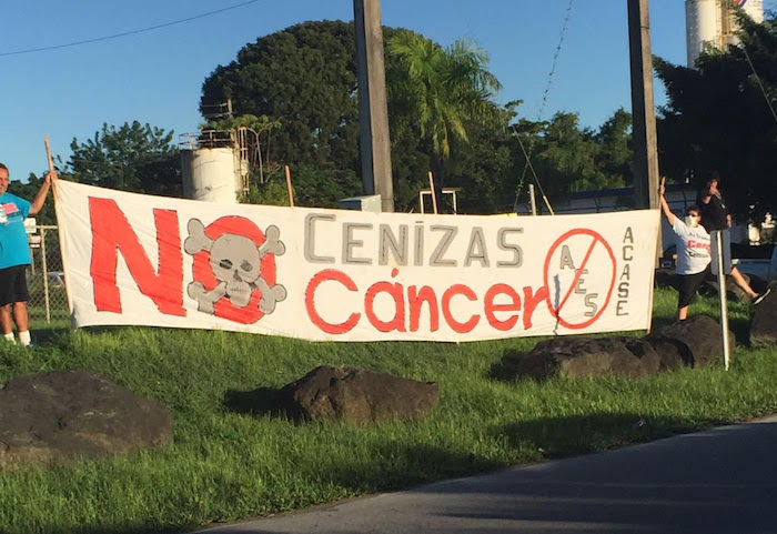 Manifestación Humacao (Policía de Puerto Rico)