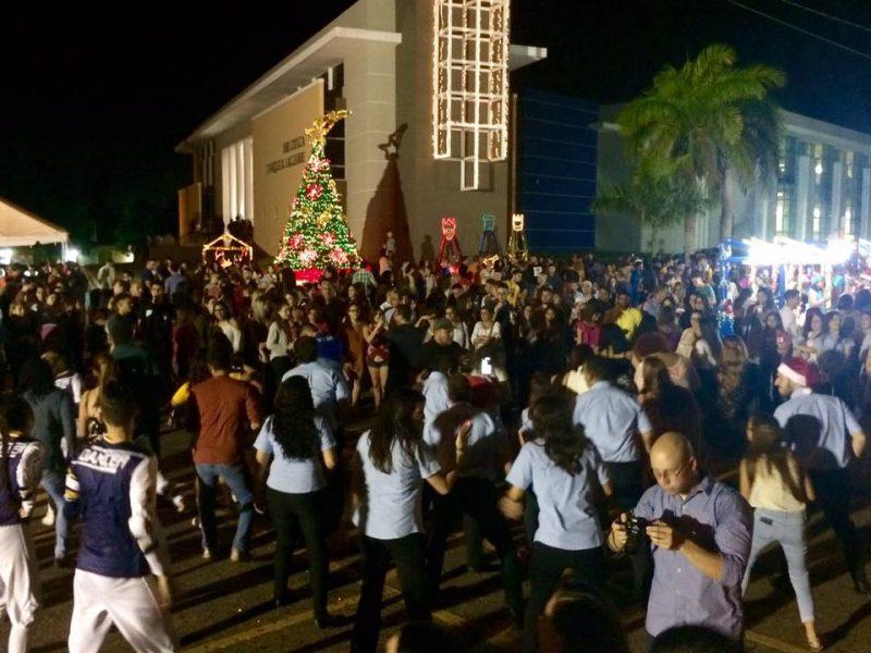 La actividad fue organizada por la comunidad universitaria. (Suministrada)