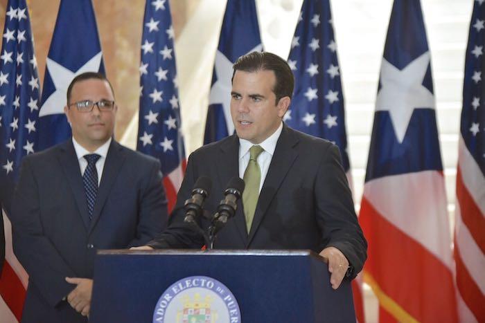 Ricardo Rosselló, gobernador electo (Suministrada)