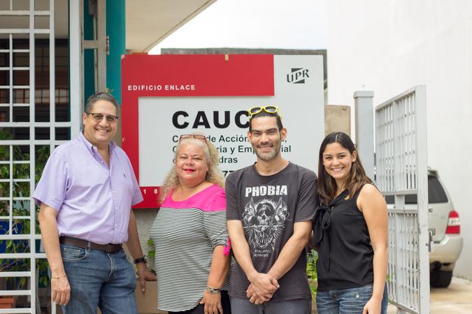 José Coll, Nelly Velázquez, Julio Aldea y Lisandra Morales (Carla Pérez/Diálogo)
